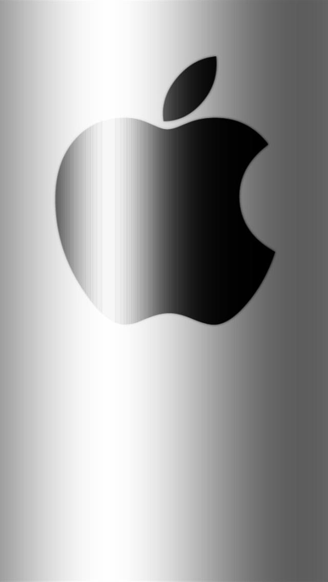 Apple On Black iPhone 5 Wallpapers Hd 640x1136 Iphone 5 Wallpapers 640x1136