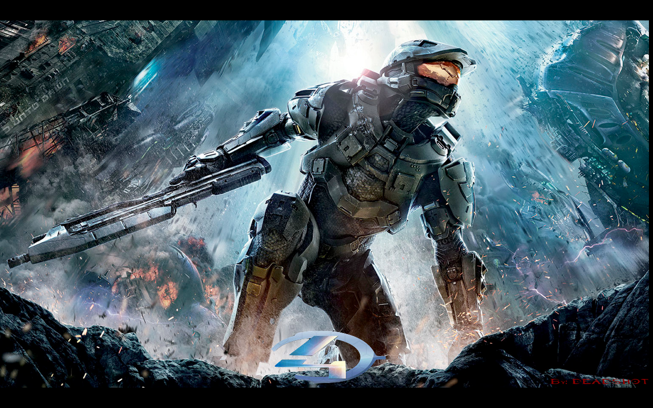 Epic Halo Wallpapers Halo 4 box art 1280x800