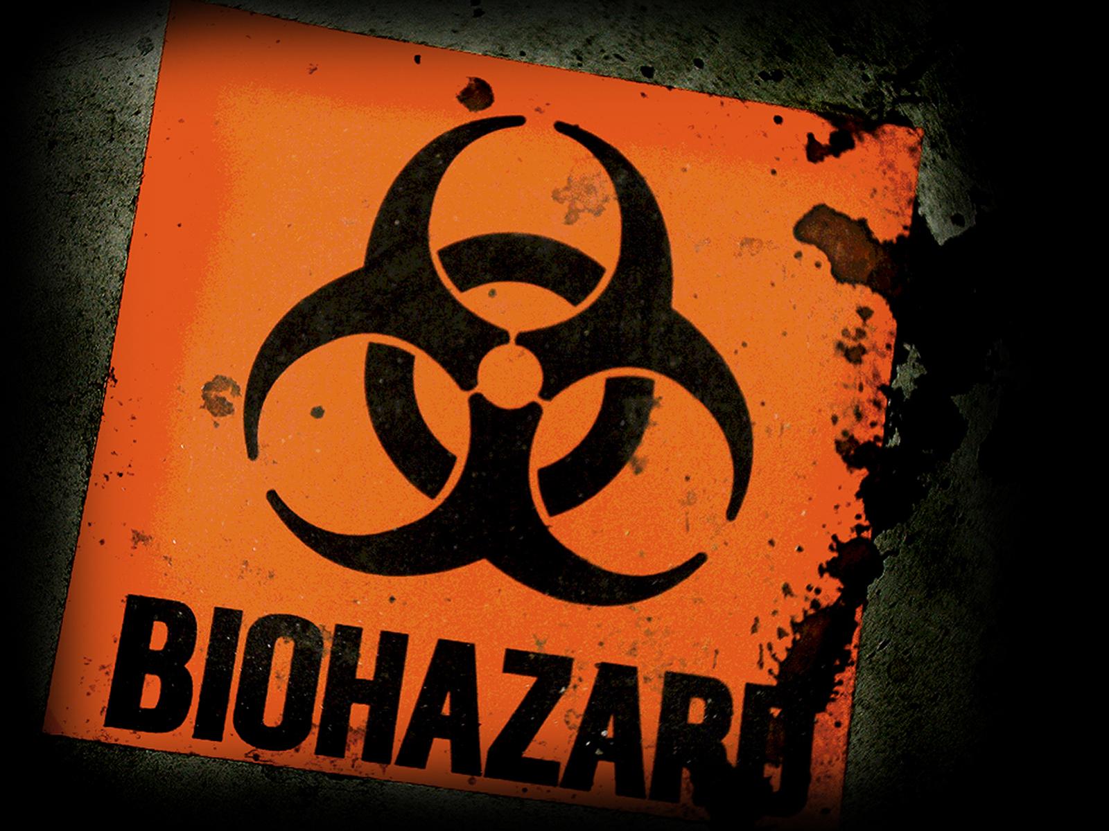 Biohazard Warning Signs Logo HD Wallpapers Desktop Wallpapers 1600x1200