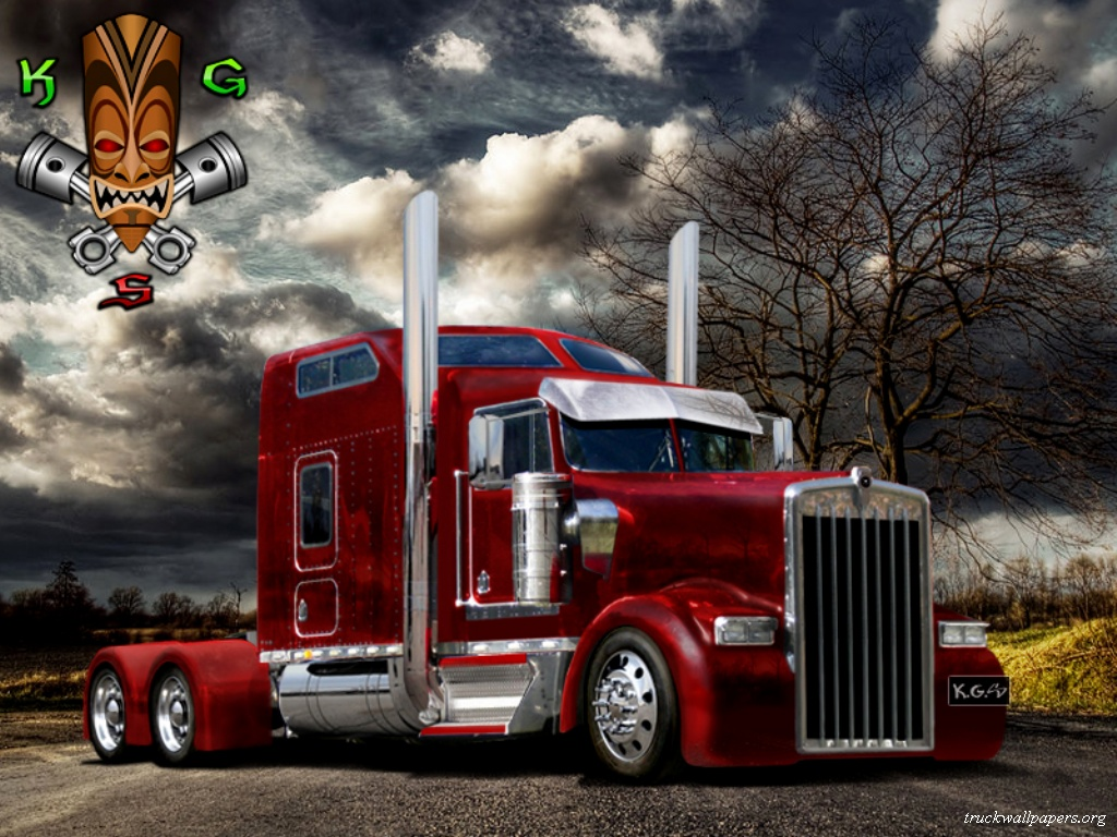 Kenworth Truck Wallpapers 1024x768