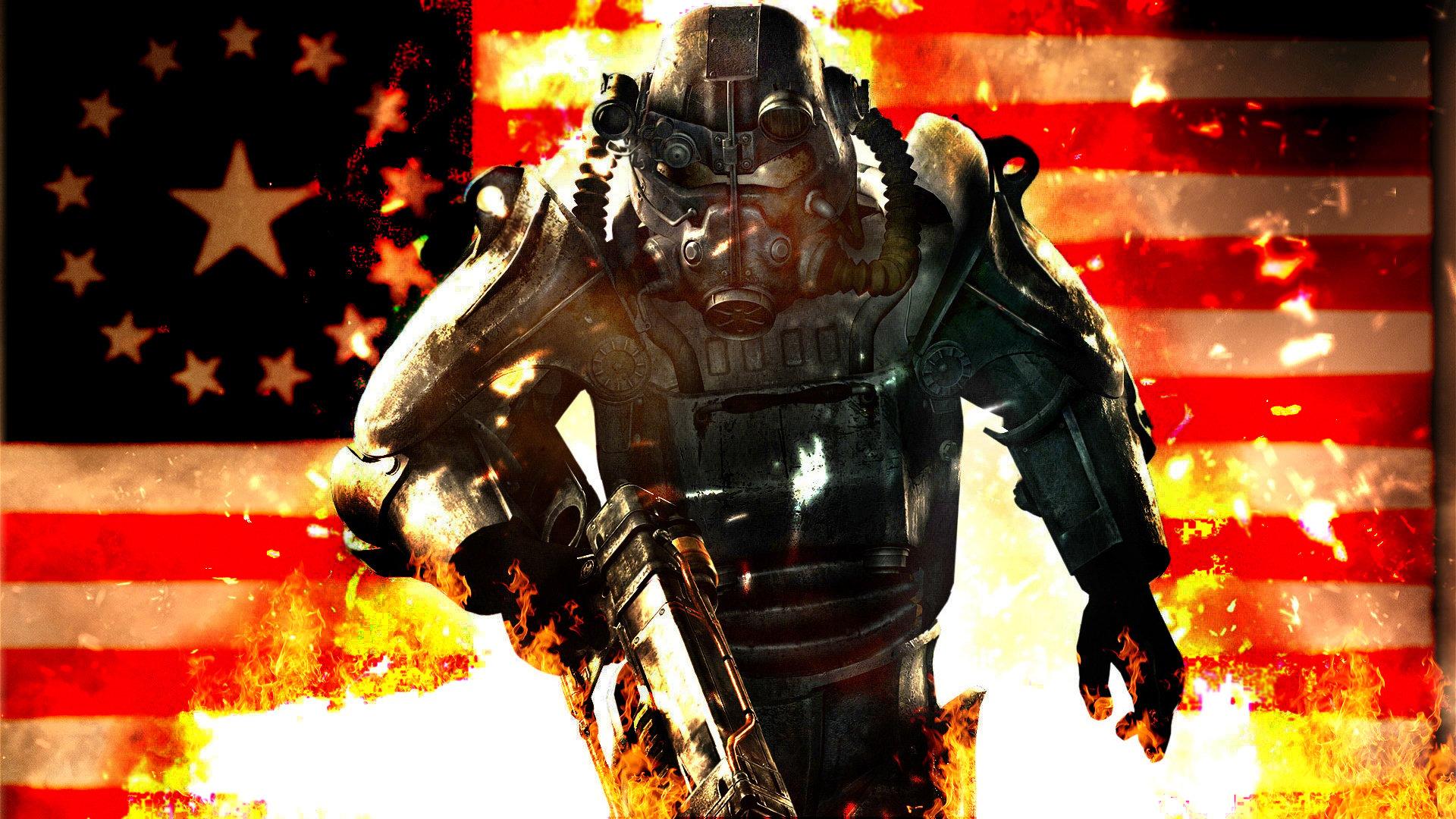 Fallout Brotherhood Of Steel Wallpaper 1920x1080 Brotherhood of steel 1920x1080