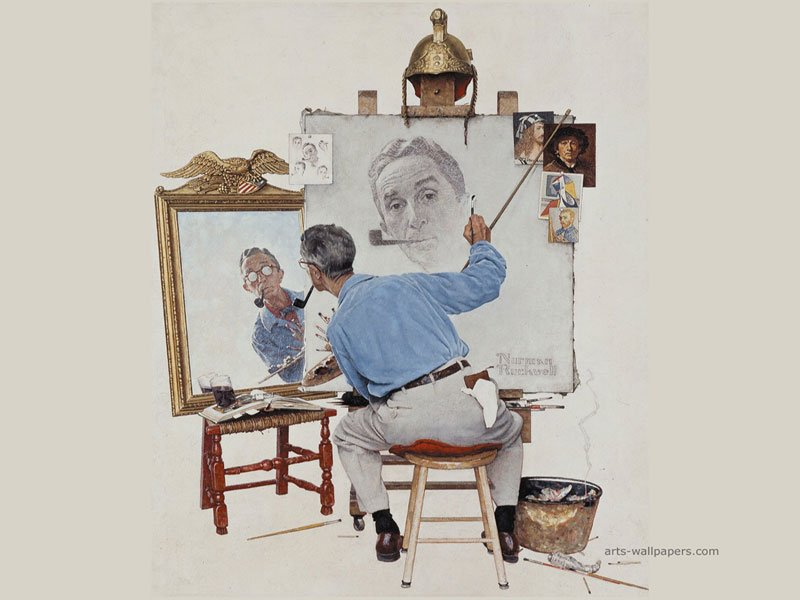 73 Norman Rockwell Wallpaper On Wallpapersafari