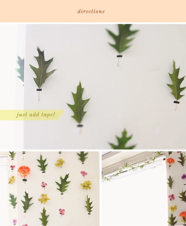 The Kipi Blog Diy Project 14 Removable Floral Wallpaper 598x727