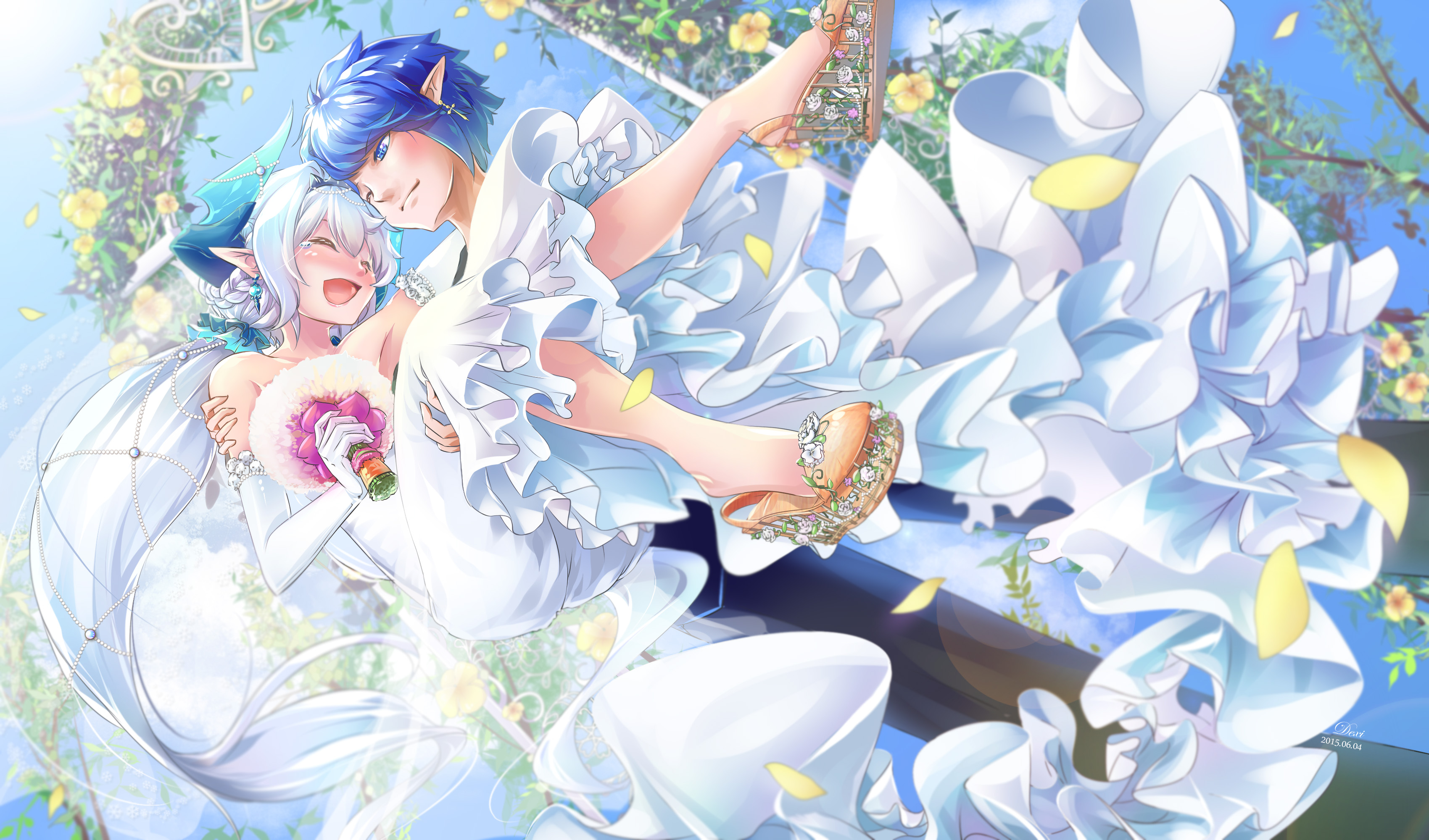 7 Lu Elsword HD Wallpapers Background Images 3400x2000