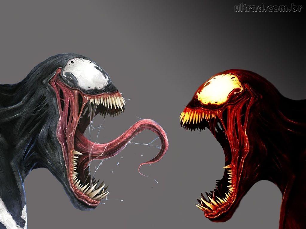Papel de Parede Venom e Carnificina 1024x768