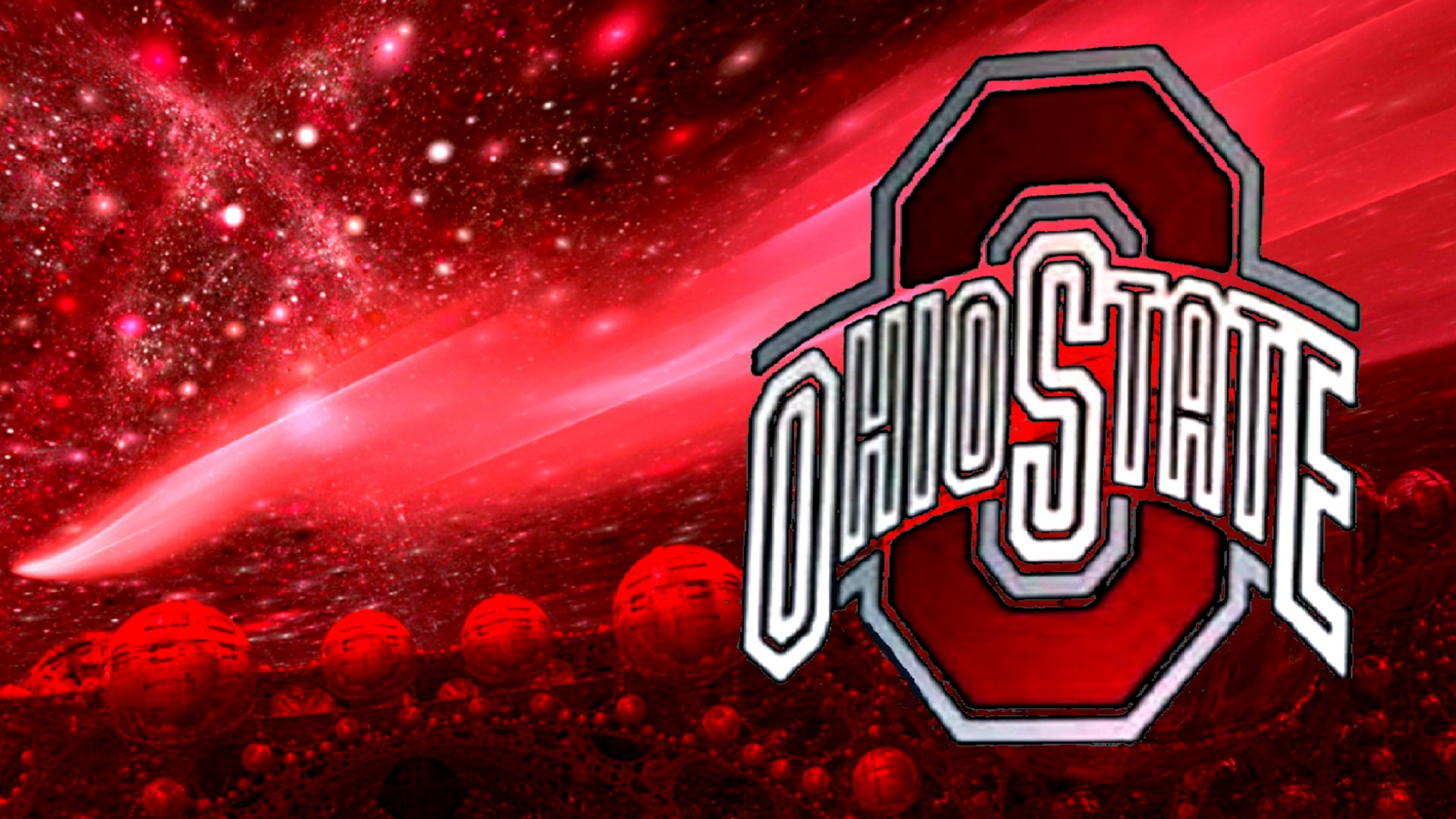 3D   Ohio State Football Desktop and mobile wallpaper Wallippo 1920x1080