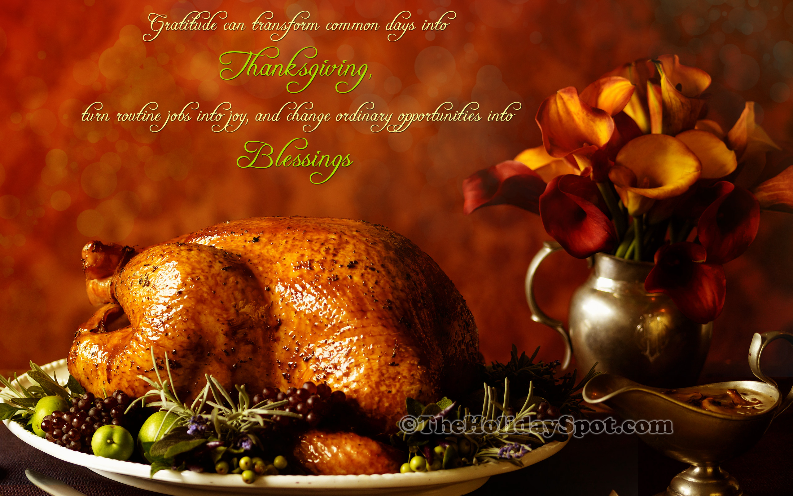 Happy Thanksgiving Wallpapers Thanksgiving HD Wallpapers 2560x1600