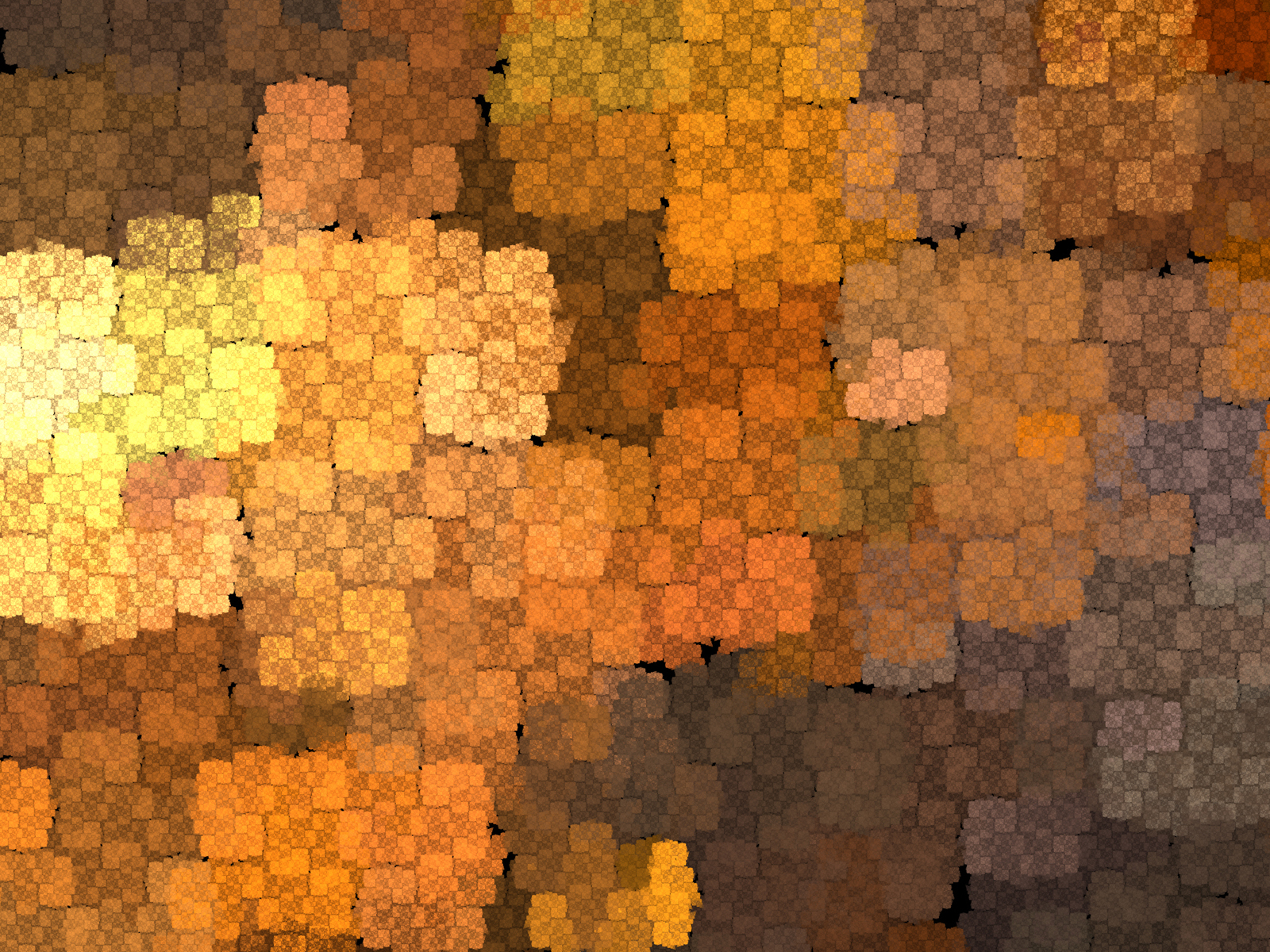 Copper Mosaic PPT Backgrounds for your PowerPoint Templates 1600x1200