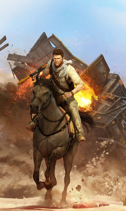 Uncharted 3 HD Live Wallpapers Live wallpapers HD for Android 480x800