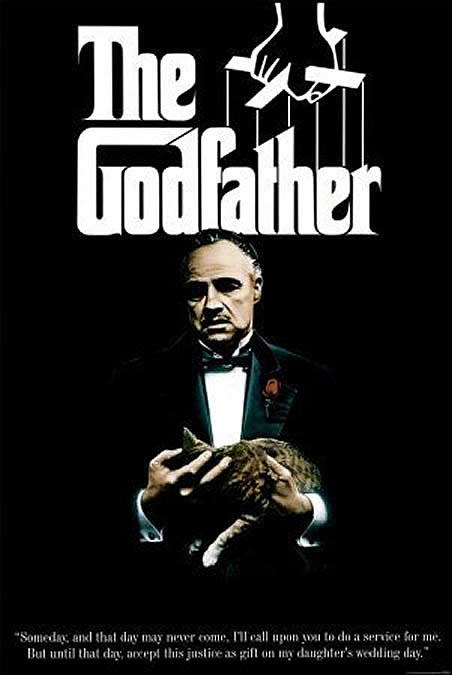 The Godfather   classic movie posters wallpaper image 452x675