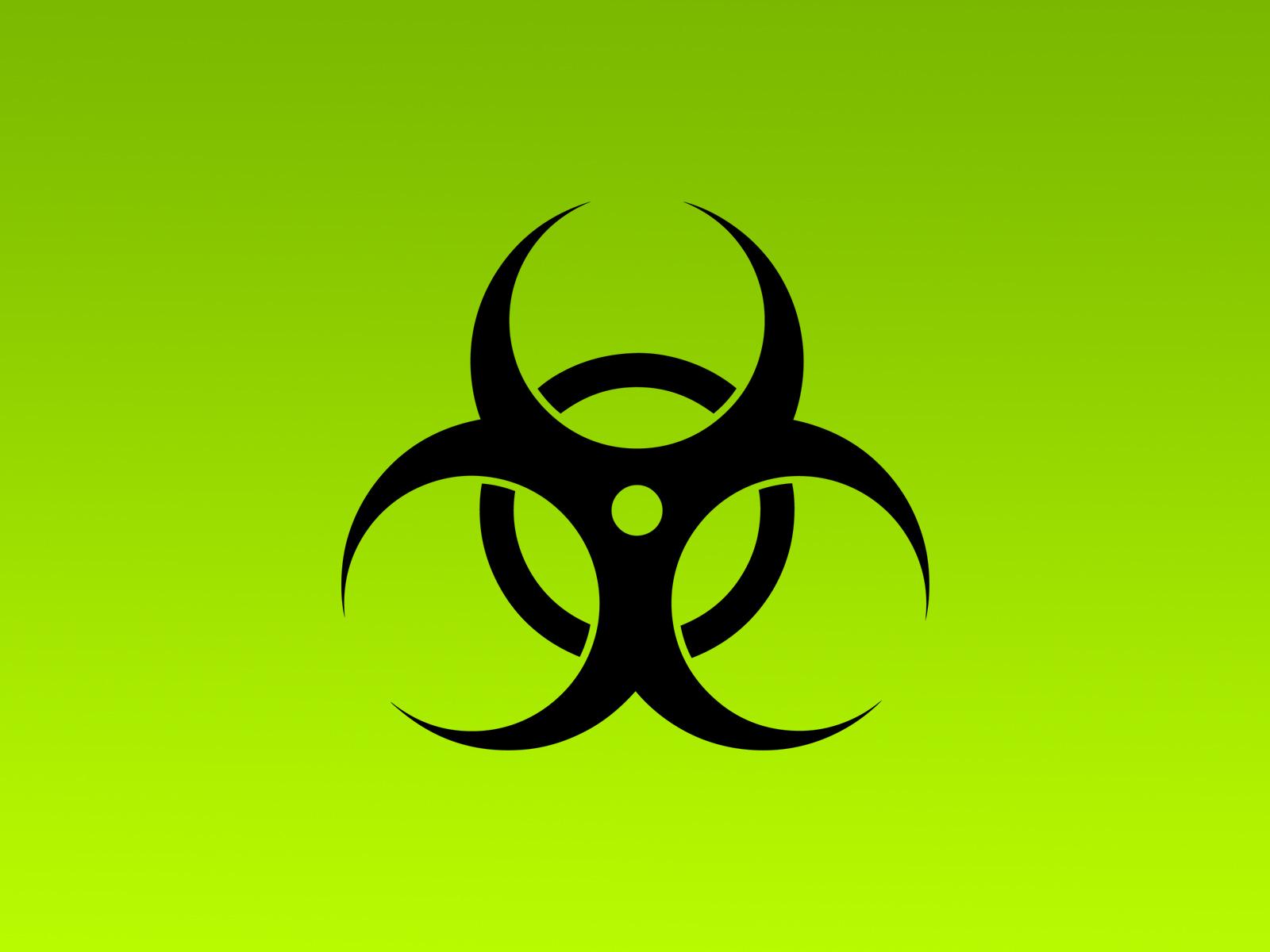 BioHazard   Radioactive Symbol HD Wallpapers 1600x1200