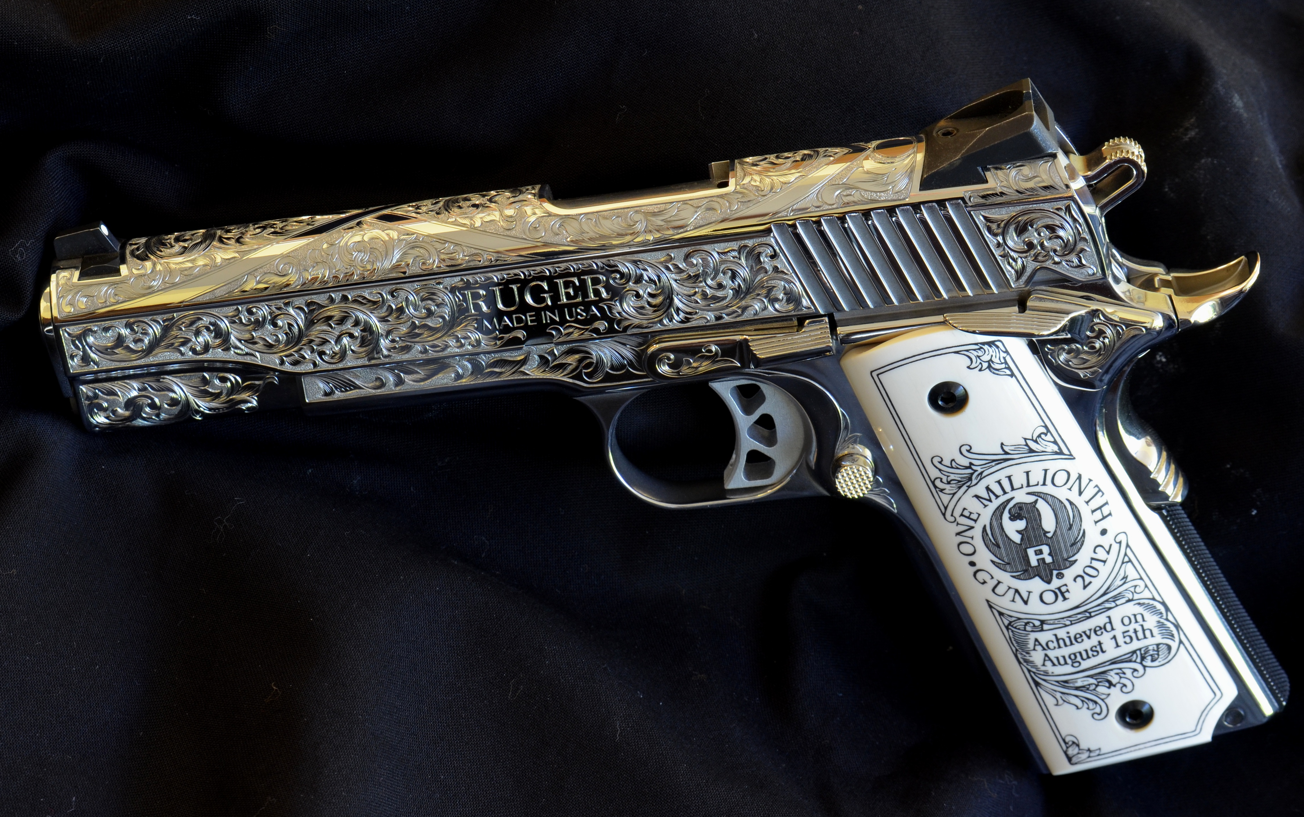 After production the SR1911 was sent to Baron Technology for 4490x2815
