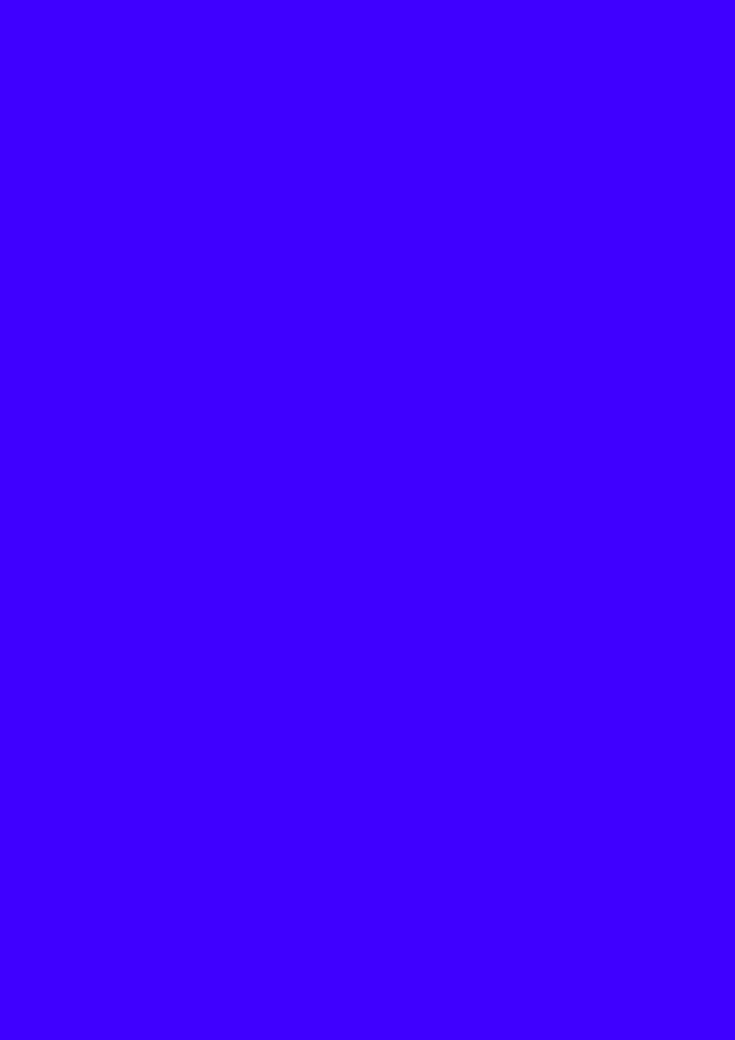 2480x3508 Electric Ultramarine Solid Color Background 2480x3508