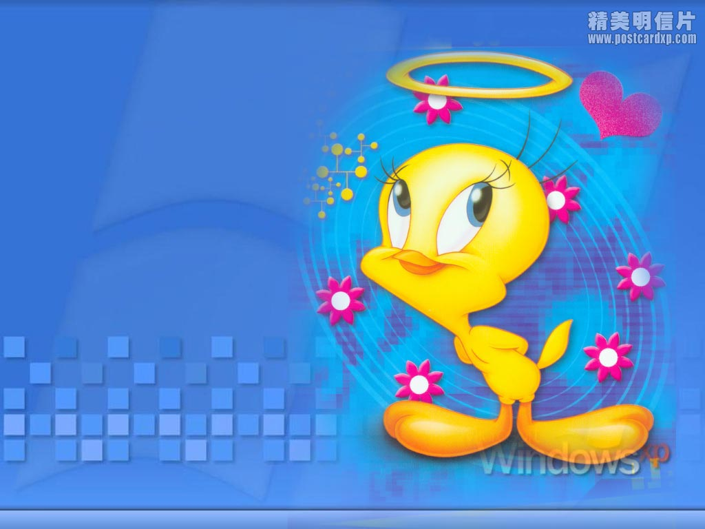 Easter tweety wallpaper wallpapersafari free download sylvester and tweety background images hd wallpaper 1024x768 voltagebd Images