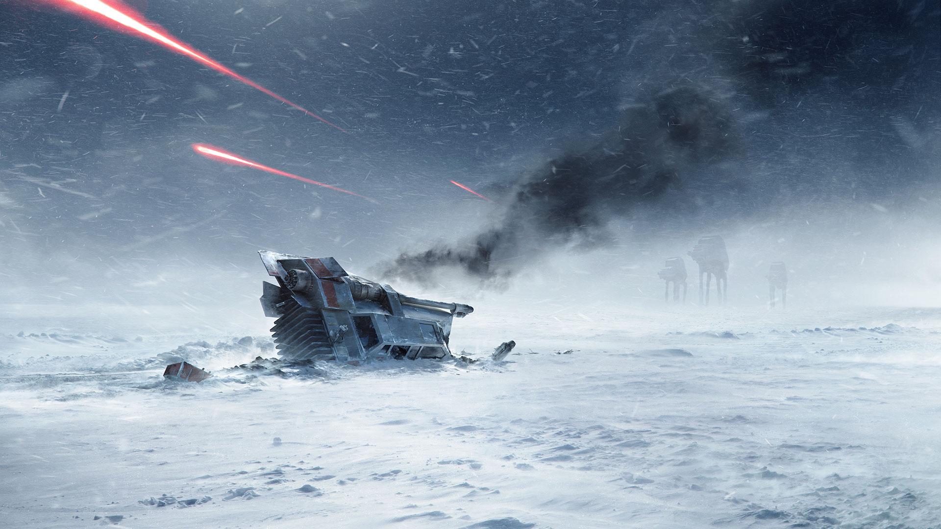 DICE Star Wars Battlefront Hoth Wallpaper StarWars 1920x1080