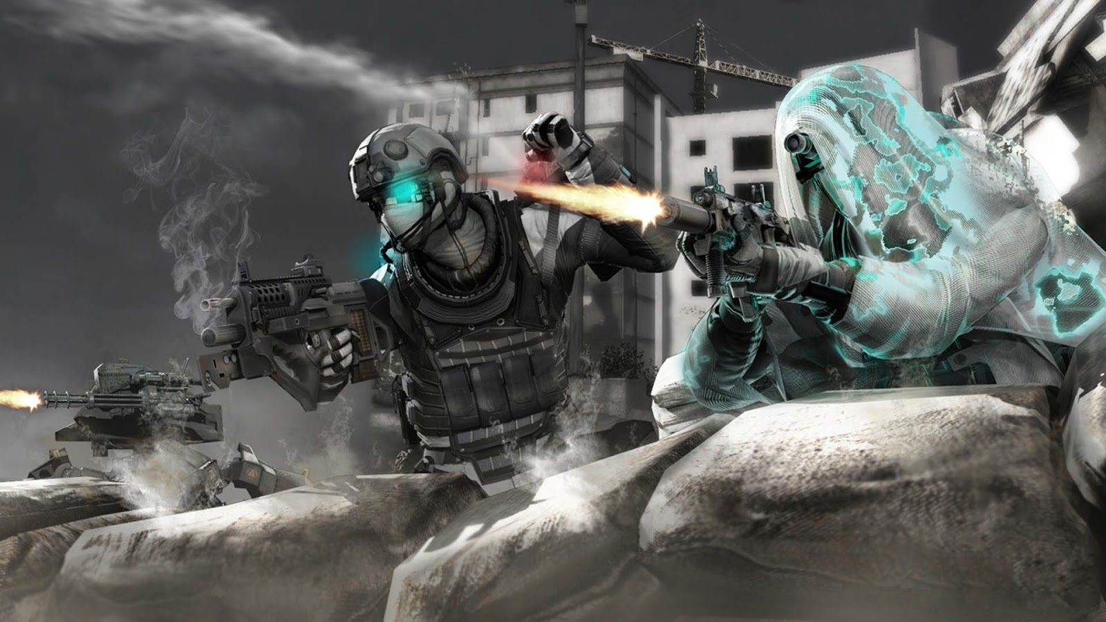Wallpapers Ghost Recon Future Soldier Game DesktopBackgrounds Ghost 1600x900