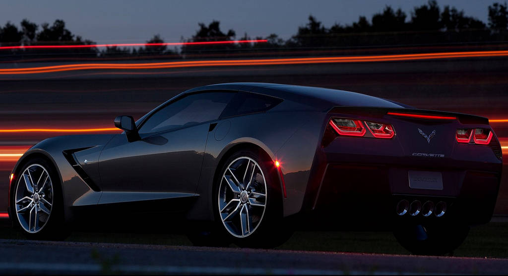 CARSWAL Chevrolet Corvette C7 2014 Wallpapers 1024x557