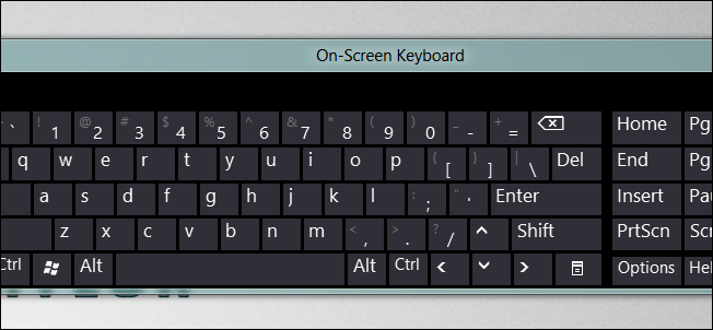 keyboard layout a little more tricky than previous versions of Windows 652x302