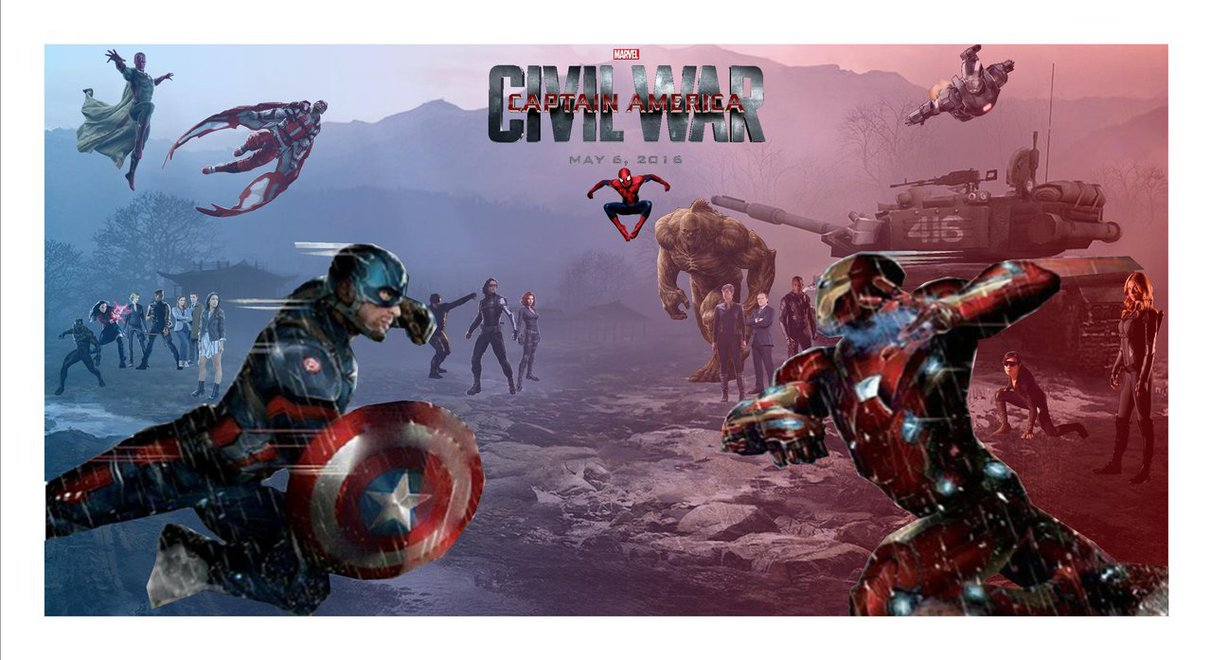 Captain America Civil War by Justiceavenger 1212x660