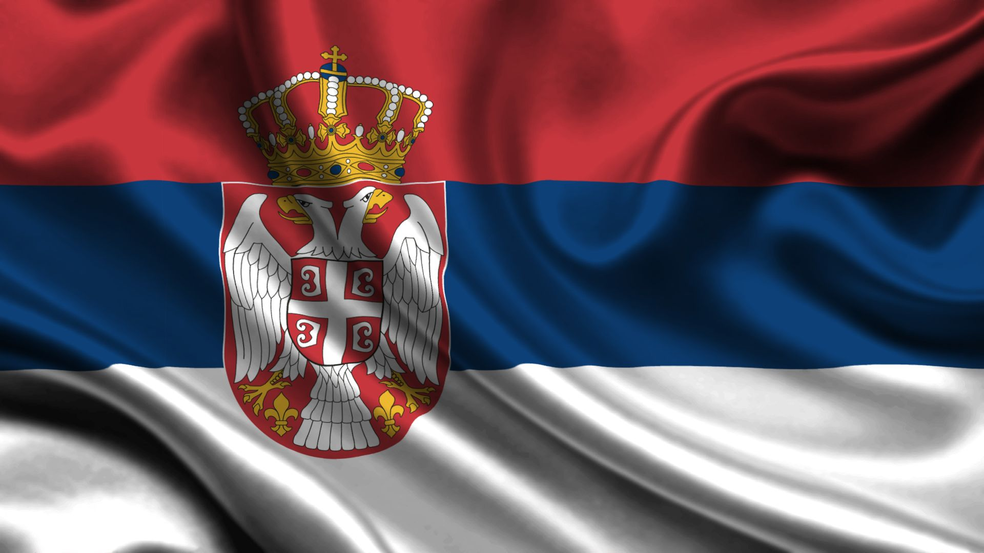 6 HD Serbia Flag Wallpapers 1920x1080