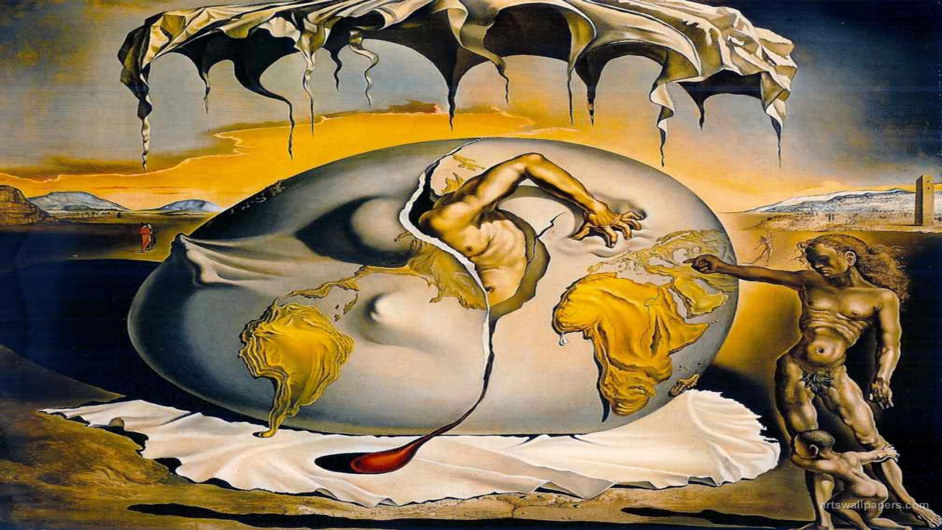 famous surrealist paintings - HD 1920×1080