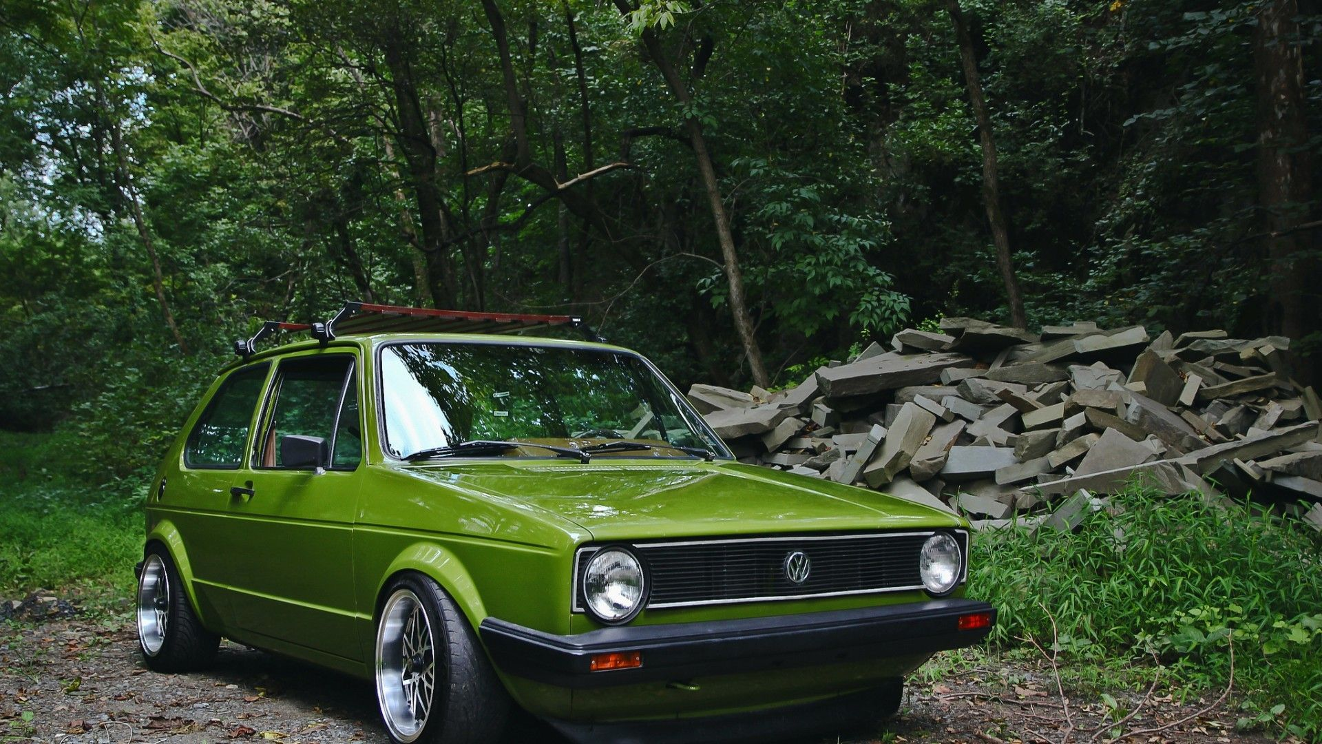 Vw 1 K Golf Car Wallpaper Volkswagen Vw 1 K Golf Wallpapers in 1920x1080