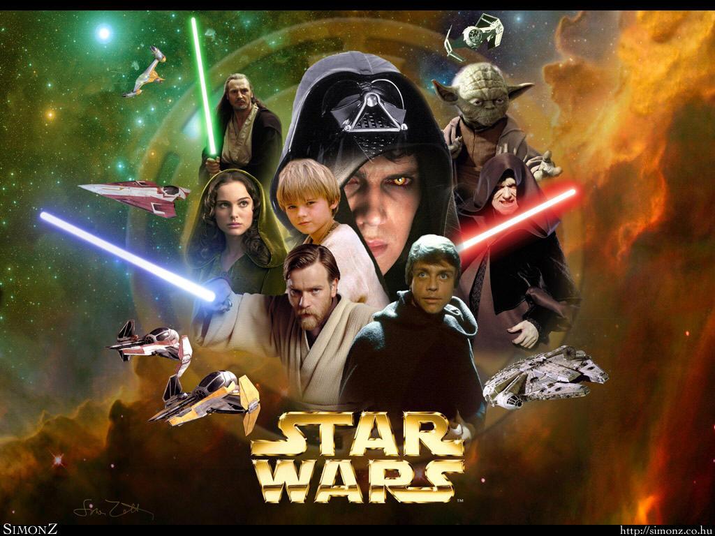 star wars   Anakin and Padme Wallpaper 33336313 1024x768