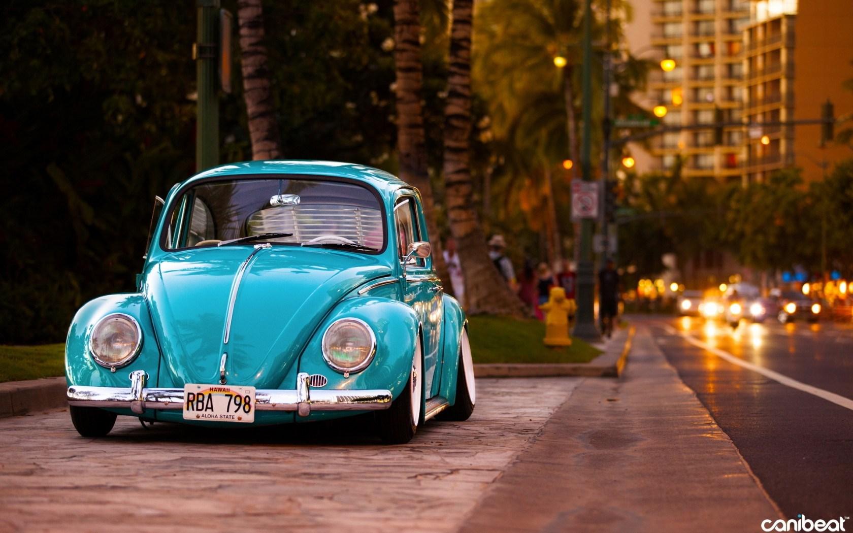 Volkswagen Beetle Street Tuning Car 1680x1050