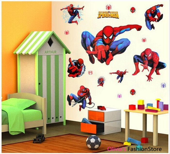 for Kids Rooms Wall decals Home Decor wallpaper Mural For Boys Room 700x634