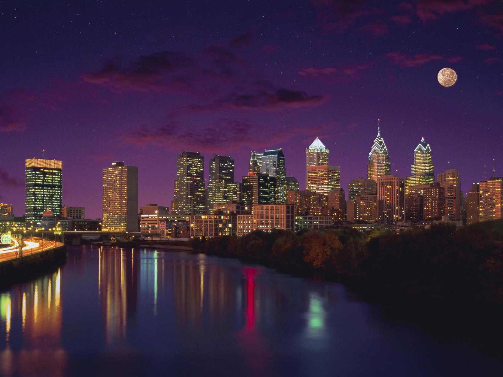 77 Philadelphia Skyline Wallpaper On Wallpapersafari