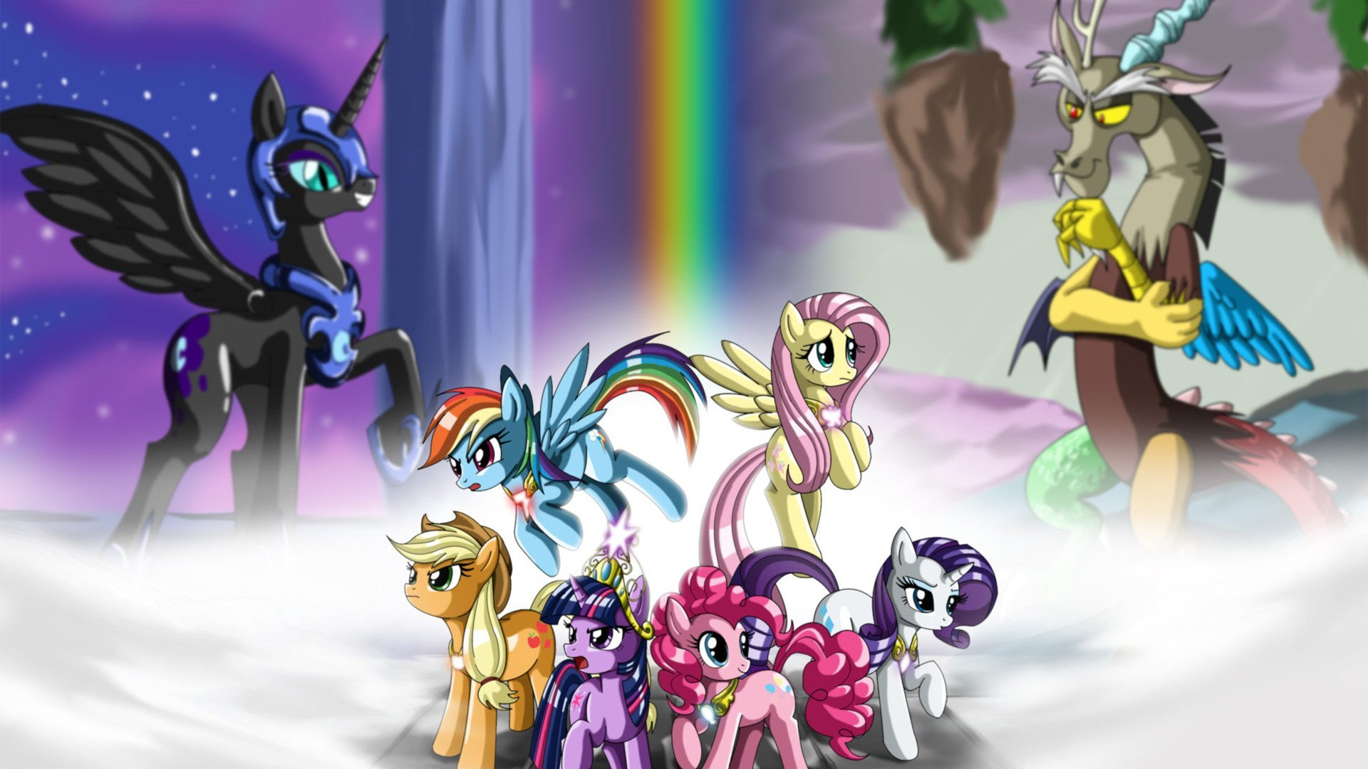 Free Download My Little Pony Friendship Is Magic Wallpaper Hd