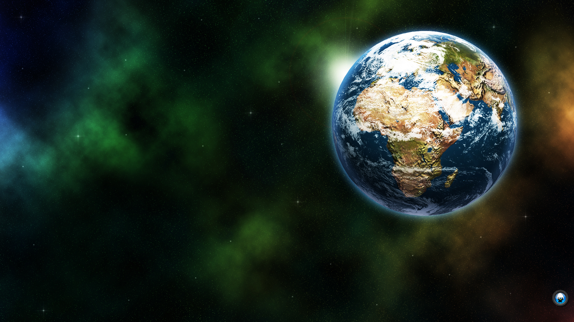 1920x1080 Wallpaper: Earth From Space Wallpaper 1920x1080