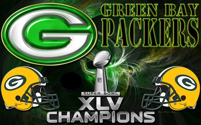 Wallpapers By Wicked Shadows Green Bay Packers Super Bowl XLV 640x400