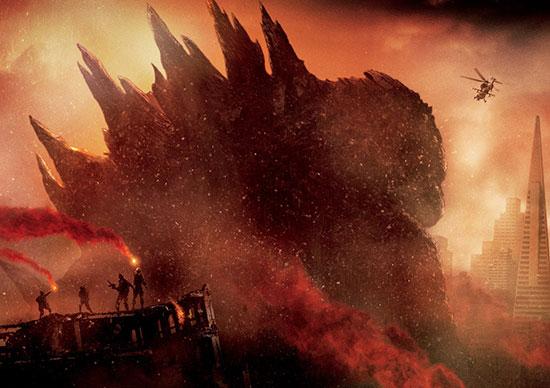 Godzilla Movie 2014 HD iPhone iPad Wallpapers 550x388