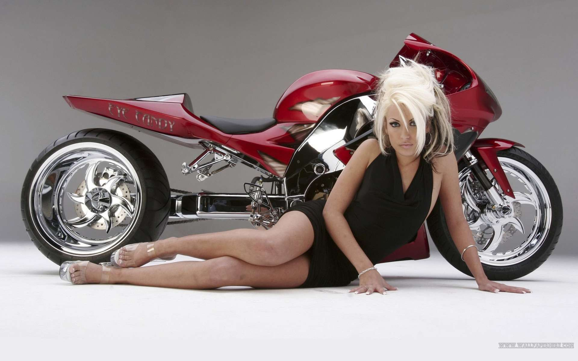 Hot Girls And Motorcycle Wallpaper Wallpapers Hd Car Wallpapers 1920x1200