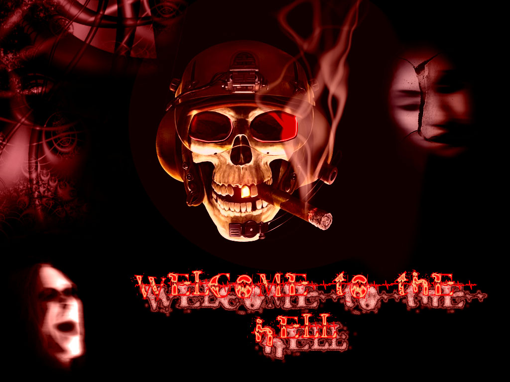 1024x768 Welcome to the hell desktop PC and Mac wallpaper 1024x768