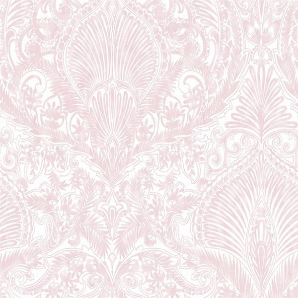 pink and white damask wallpaper canada 2016   White Brick Wallpaper 600x600