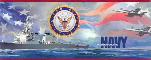 Red US Navy Wallpaper Border   Wallpaper Border Wallpaper inccom 525x208