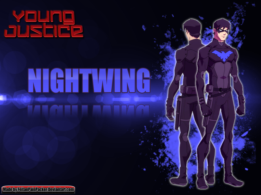 Young Justice Nightwing Wallpaper by FeitanPainPacker 900x675