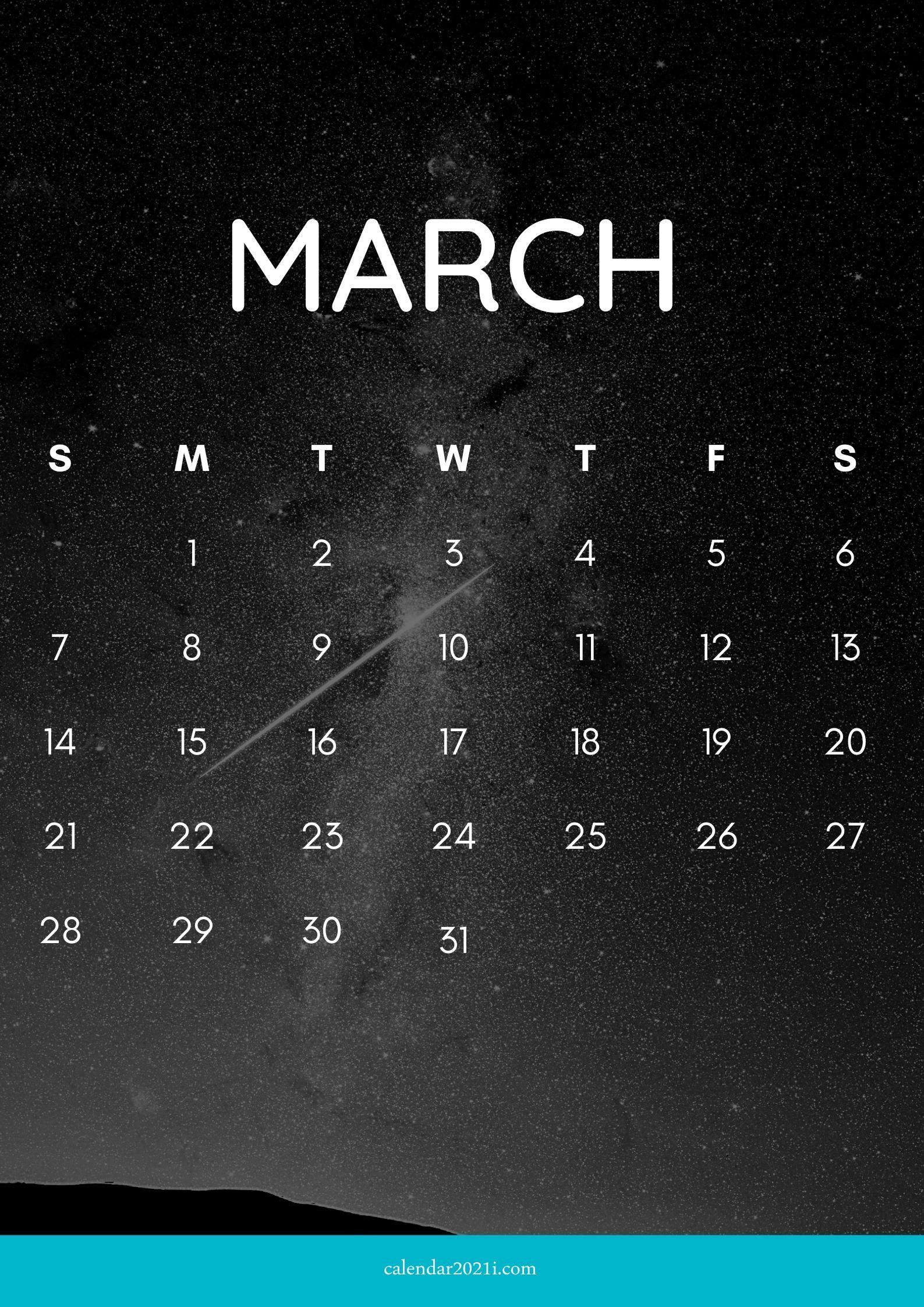 iPhone March 2021 Calendar Wallpaper Download Calendar