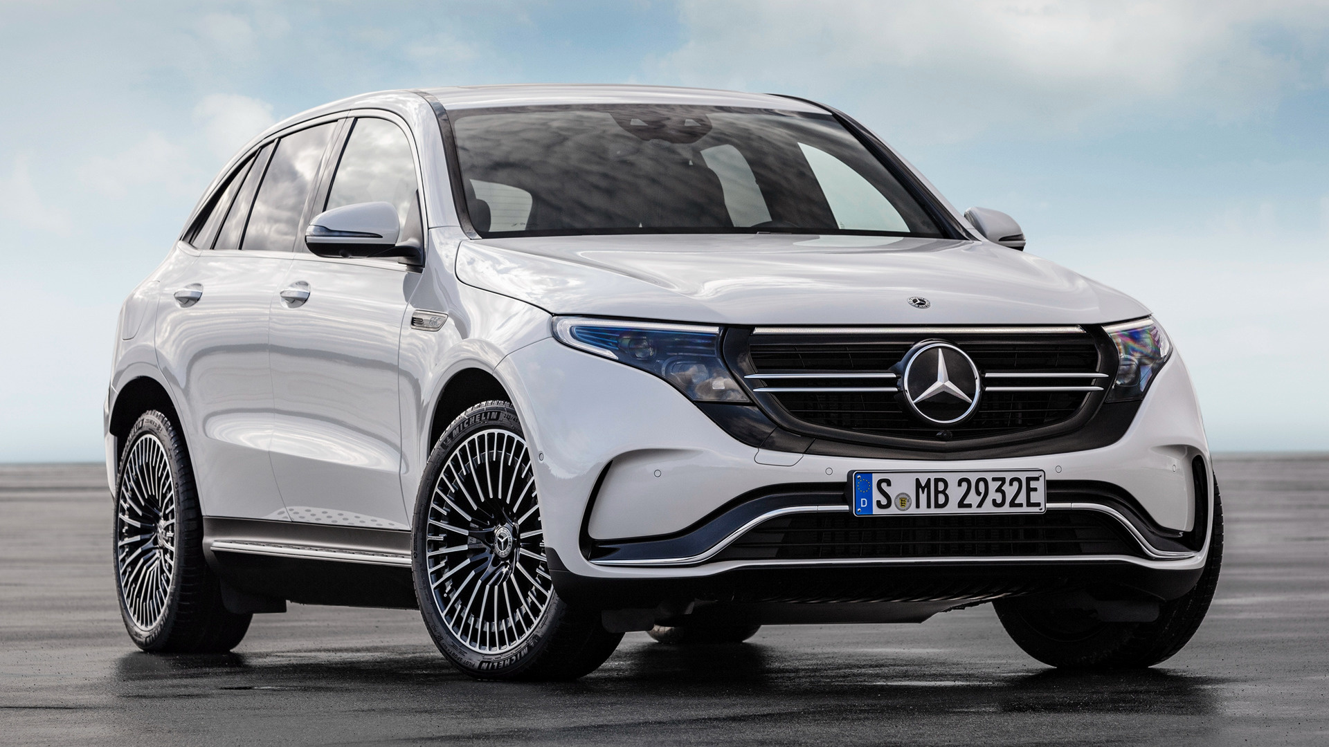 2019 Mercedes Benz EQC AMG Line   Wallpapers and HD Images Car Pixel 1920x1080
