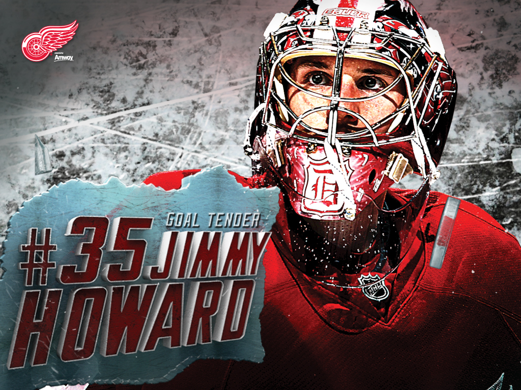 Jimmy Howard Red Wings Wallpaper HD 7006520 1024x768
