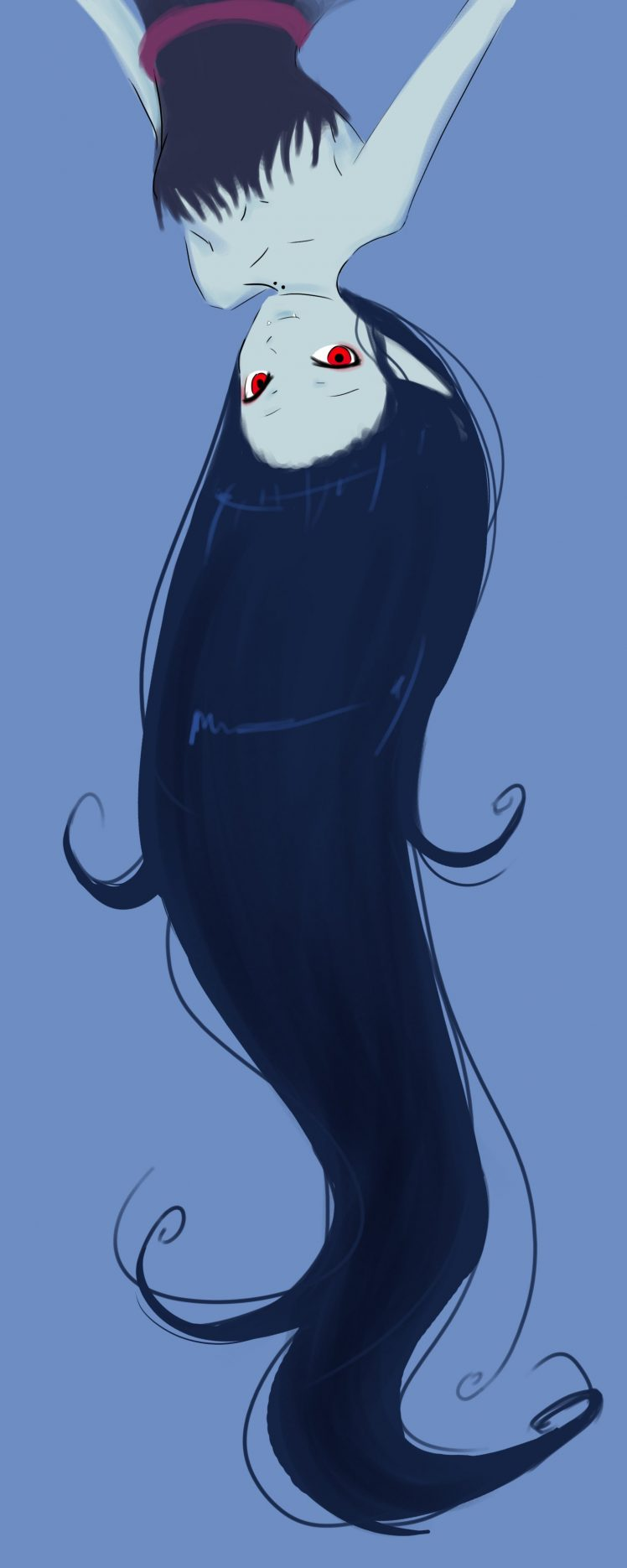 Marceline the vampire queen Cartoon Adventure Time Wallpapers HD 748x1870