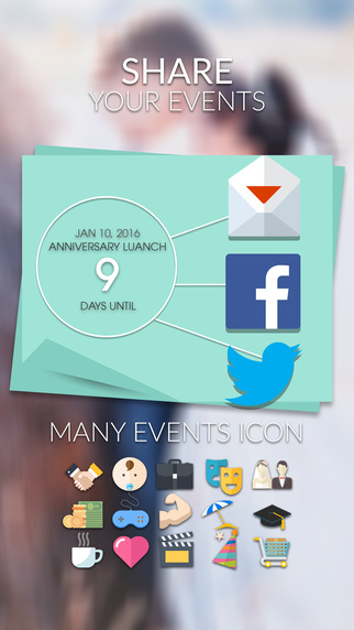 Event Countdown Beautiful Wallpaper   Wedding Pro App Store 322x572