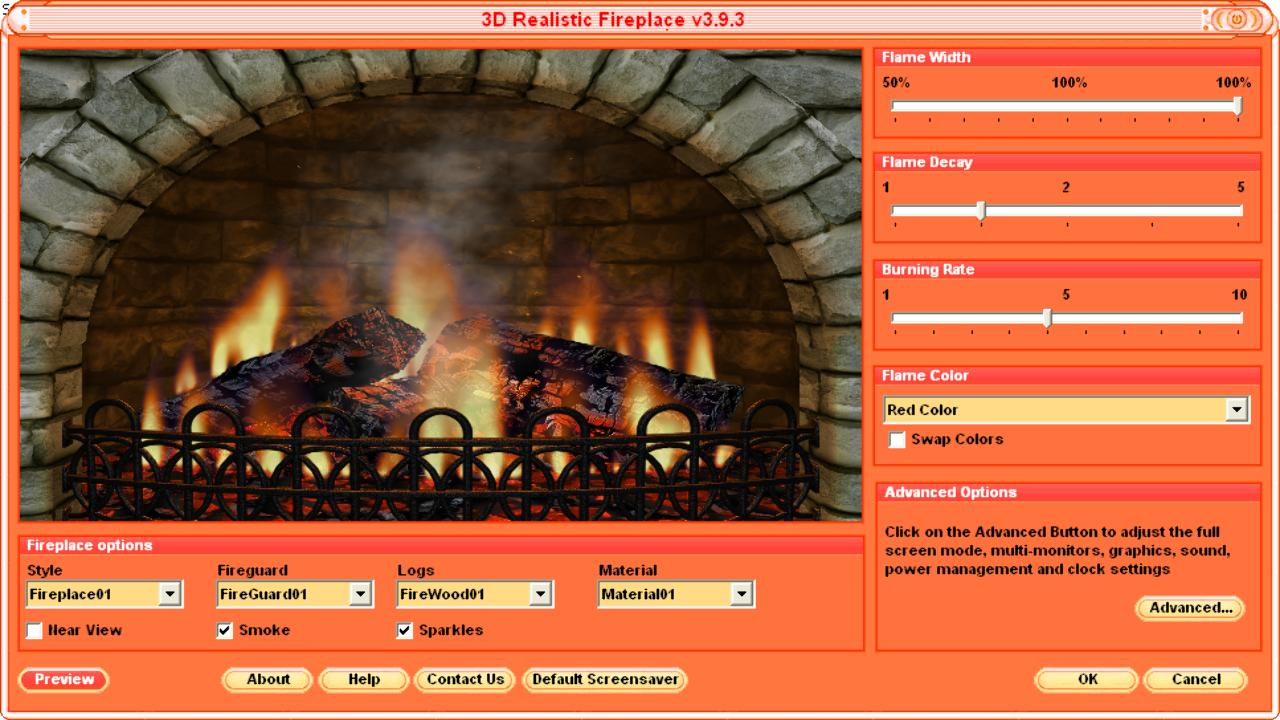 Animated Christmas Fireplace Wallpaper Overview 3d fireplace screen 1280x720