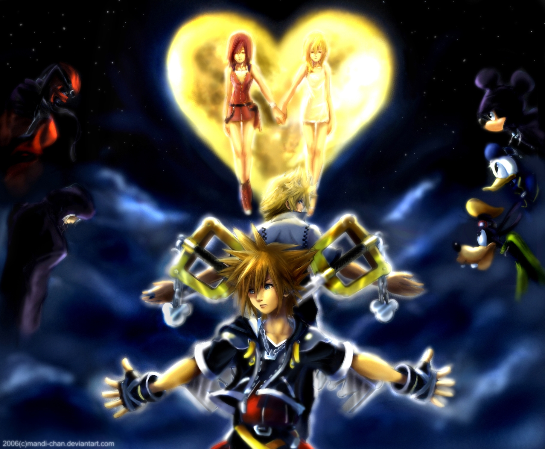 kingdom hearts wallpaper  HD Photo Wallpaper Collection HD WALLPAPERS 1822x1499