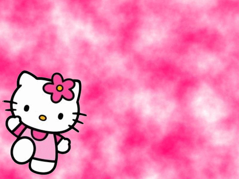 Black And Pink Hello Kitty Wallpaper Wallpapersafari