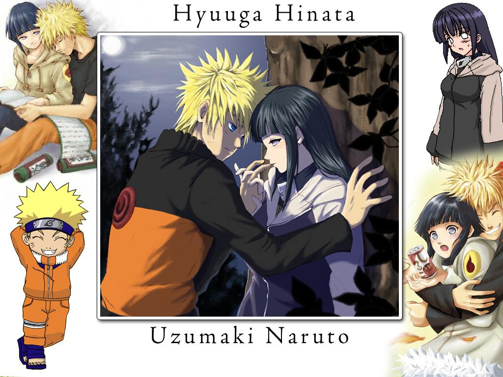 My Friends My Soul Naruto and Hinata wallpapers 1024x768