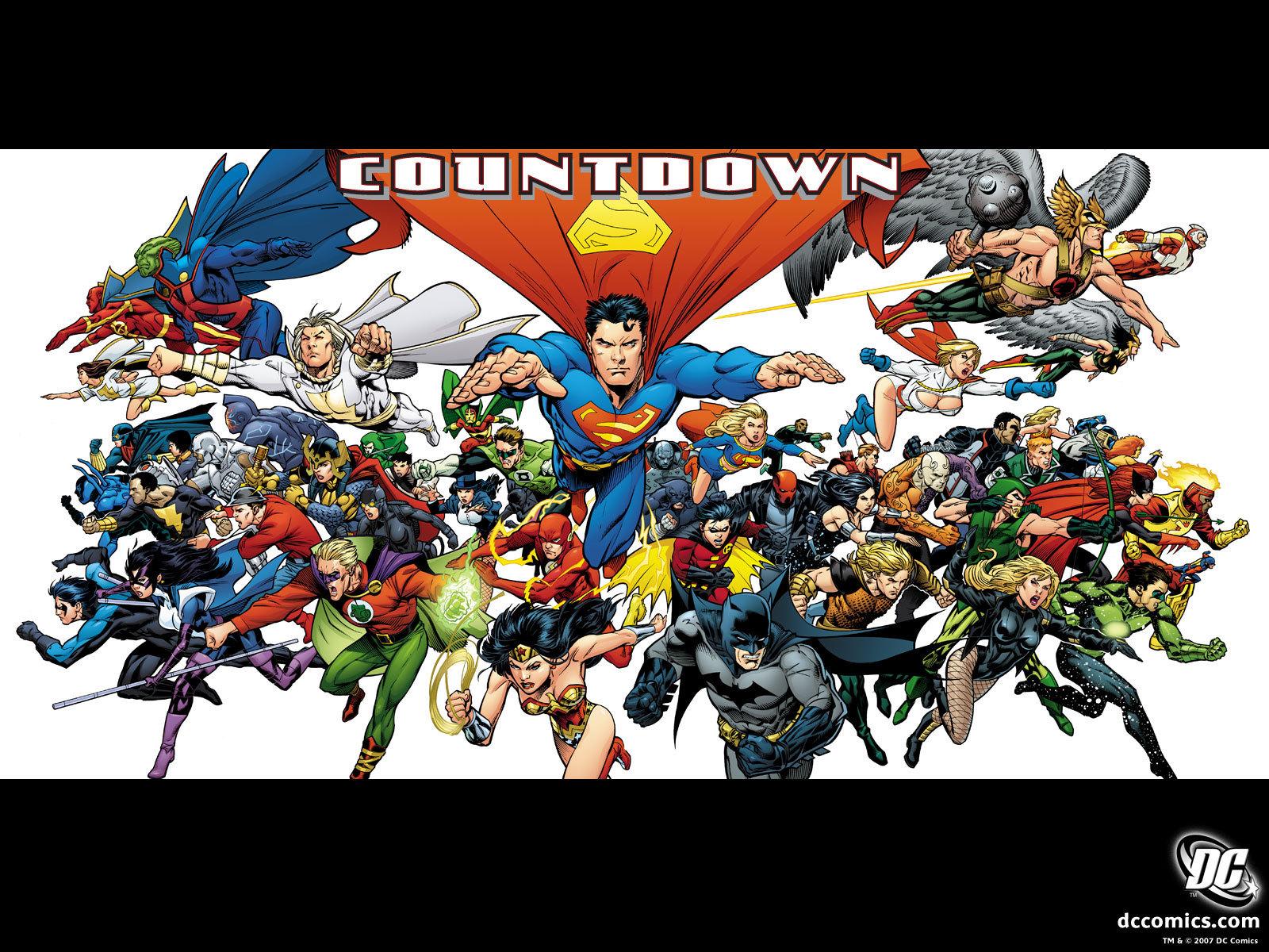 Justice League   Countdown   DC Comics Wallpaper 5344583 1600x1200