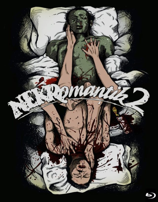 NEKROMANTIK 1 2 Blu ray Bundle limited edition of 500 coming for 640x818